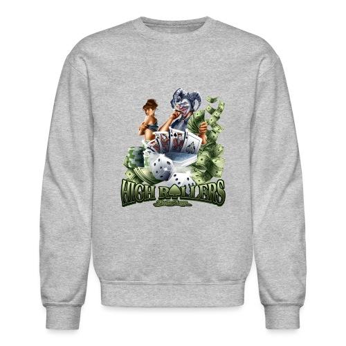 High Roller by RollinLow - Crewneck Sweatshirt