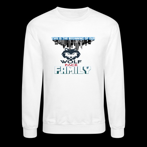 We Are Linked As One Big WolfPack Family - Crewneck Sweatshirt