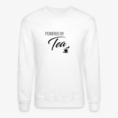 Powered by Tea - Crewneck Sweatshirt