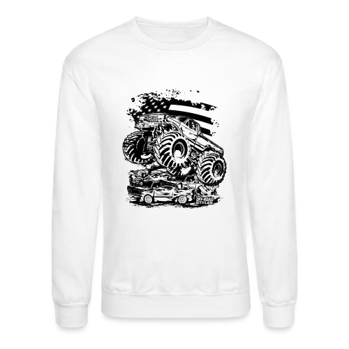 Monster Truck USA - Crewneck Sweatshirt