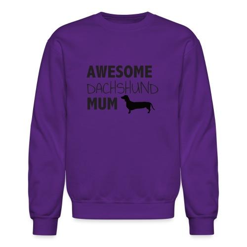 Awesome Dachshund Mum - Crewneck Sweatshirt