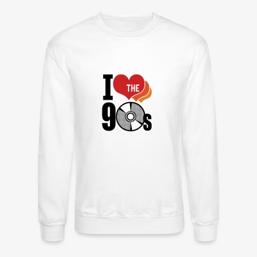 I love the 90s - Unisex Crewneck Sweatshirt