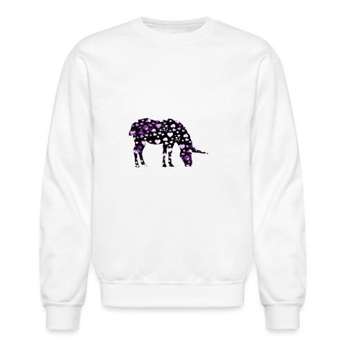 Unicorn Hearts purple - Crewneck Sweatshirt