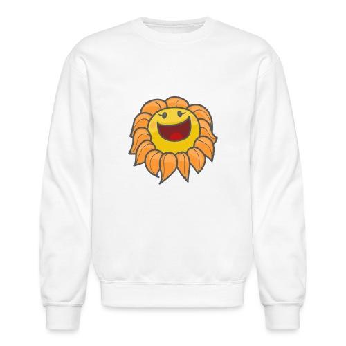 Happy sunflower - Unisex Crewneck Sweatshirt