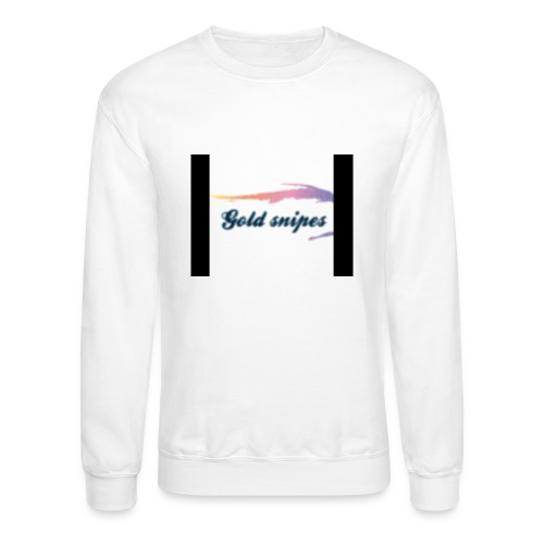 Kids Gold snipes Tshirt - Crewneck Sweatshirt