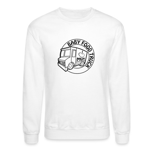 Baby Food truck - Crewneck Sweatshirt