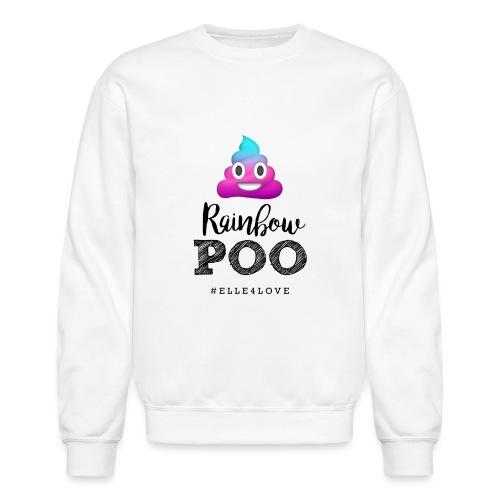 Rainbow Poo - Crewneck Sweatshirt