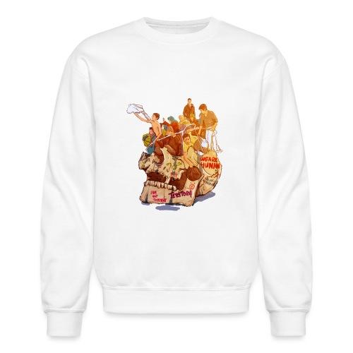 Skull & Refugees - Crewneck Sweatshirt