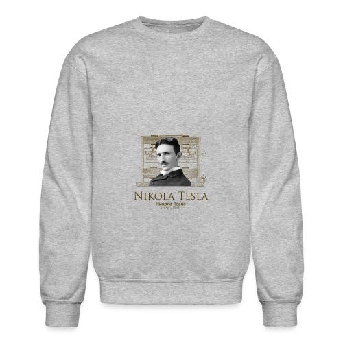 Nikola Tesla - Crewneck Sweatshirt