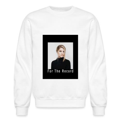 FOR THE RECORD CREWNECK - Crewneck Sweatshirt