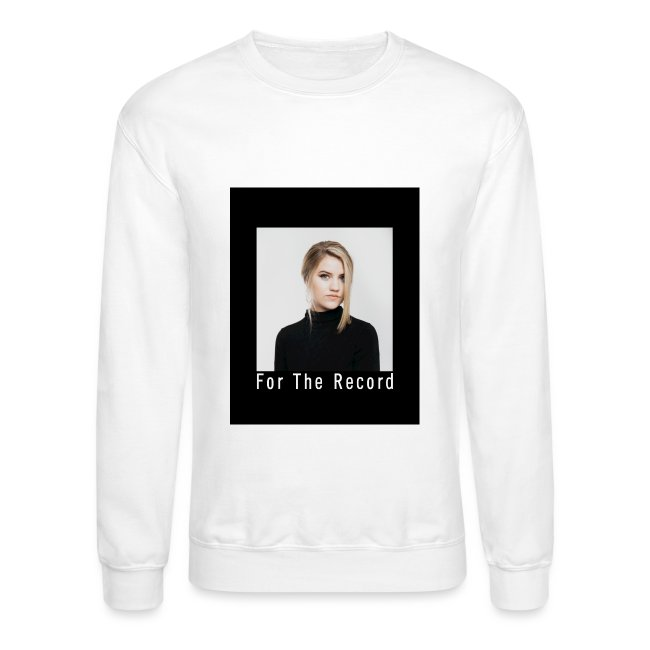 FOR THE RECORD CREWNECK