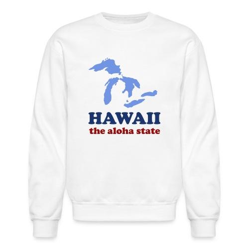 Geographically Impaired - Unisex Crewneck Sweatshirt