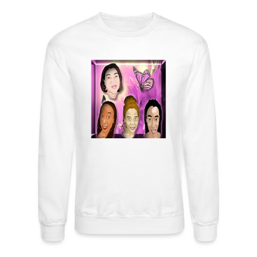(family_first_revised) - Crewneck Sweatshirt