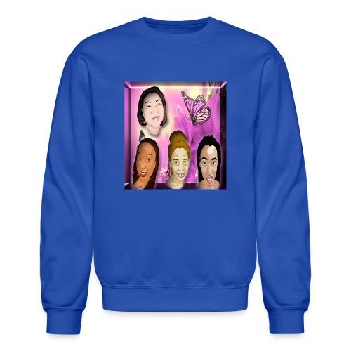 (family_first_revised) - Crewneck Sweatshirt