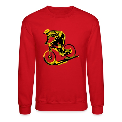 DH Freak - Mountain Bike Hoodie - Unisex Crewneck Sweatshirt