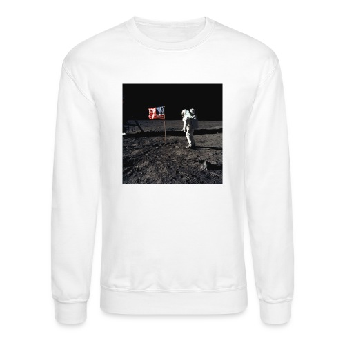 buzzAldrin jpg - Crewneck Sweatshirt