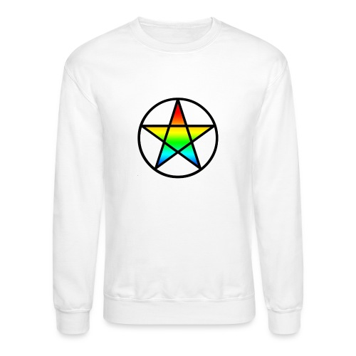 Official Iridescent Tee-Shirt // Men's // White - Crewneck Sweatshirt