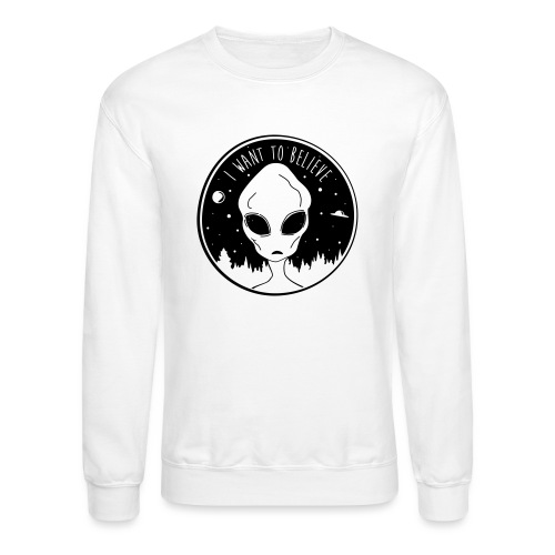 I Want To Believe - Crewneck Sweatshirt