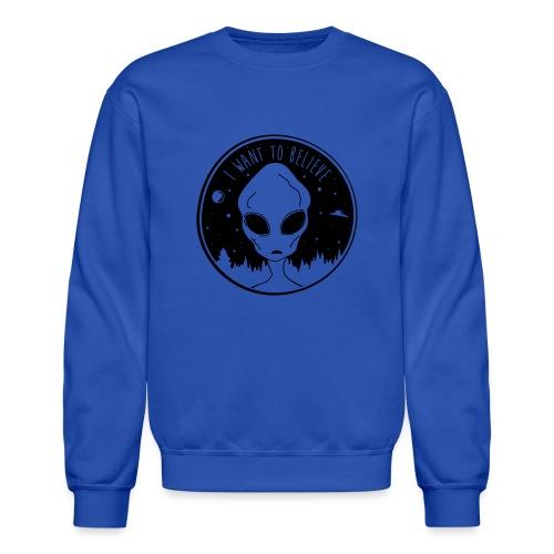 I Want To Believe - Crewneck Sweatshirt