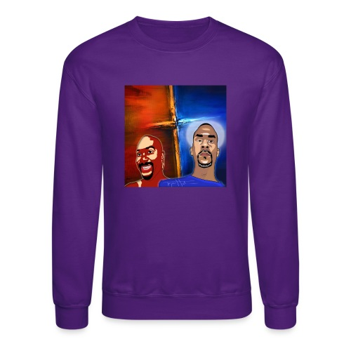 pretty tony galaxy 7 edge case - Crewneck Sweatshirt
