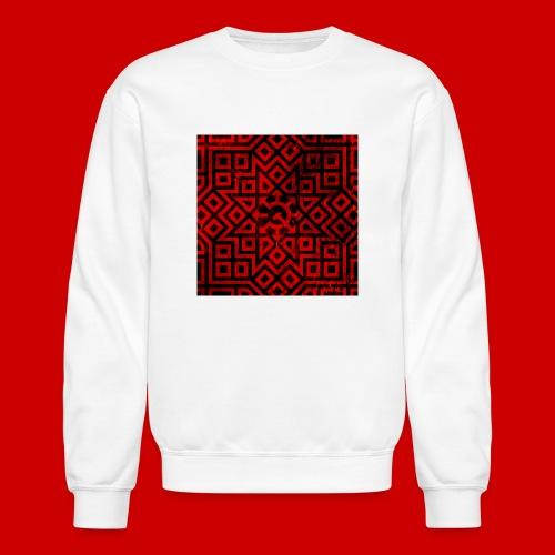Detailed Chaos Communism Button - Unisex Crewneck Sweatshirt