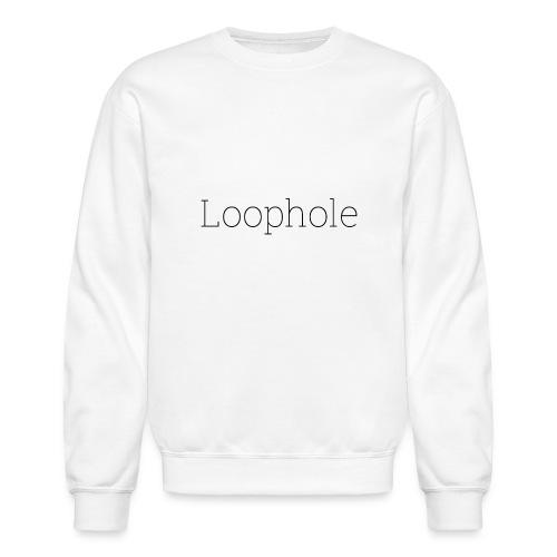 Loophole Abstract Design - Crewneck Sweatshirt