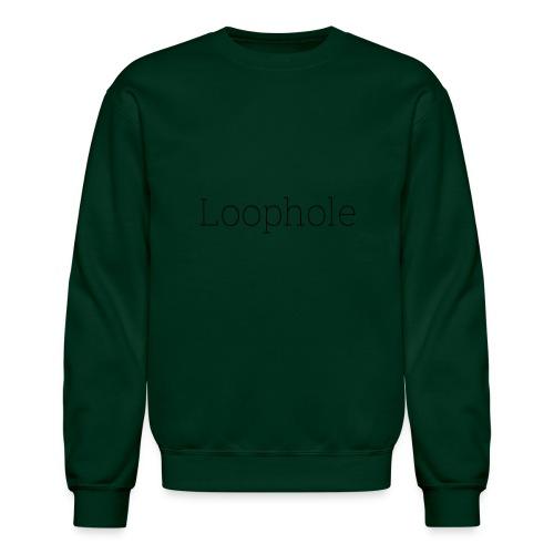 Loophole Abstract Design - Unisex Crewneck Sweatshirt