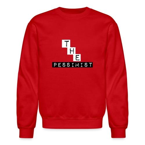 The Pessimist Abstract Design - Crewneck Sweatshirt