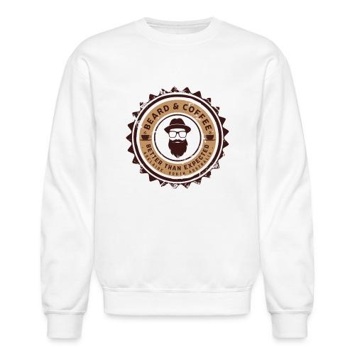 Beard and Coffee Merch - Unisex Crewneck Sweatshirt