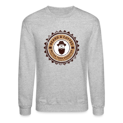 Beard and Coffee Merch - Crewneck Sweatshirt
