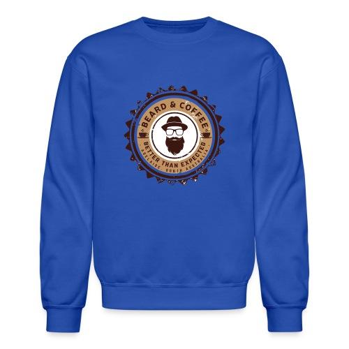 Beard and Coffee Merch - Crewneck Sweatshirt