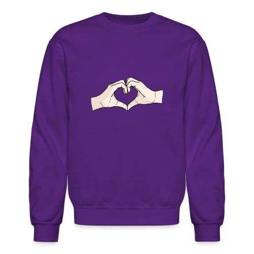 Heart Hands - Crewneck Sweatshirt