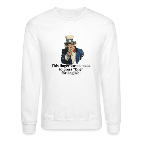 Uncle Sam - Finger - Crewneck Sweatshirt