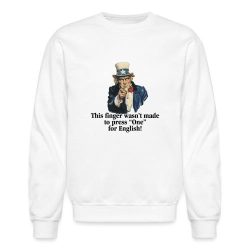 Uncle Sam - Finger - Unisex Crewneck Sweatshirt