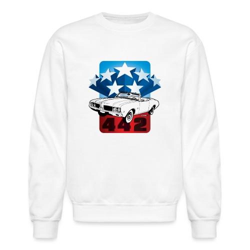 auto_oldsmobile_442_001 - Crewneck Sweatshirt