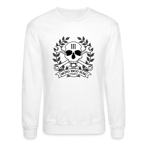 Moto Ergo Sum - Crewneck Sweatshirt