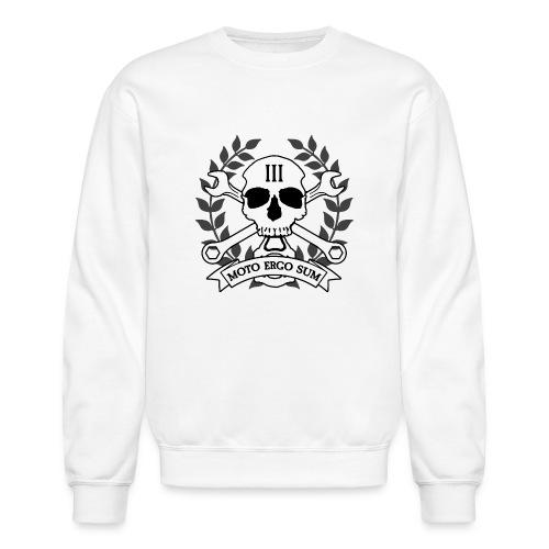 Moto Ergo Sum - Unisex Crewneck Sweatshirt