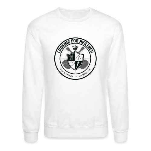 Looking For Heather - Crest Logo - Crewneck Sweatshirt