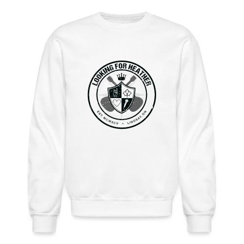 Looking For Heather - Crest Logo - Unisex Crewneck Sweatshirt