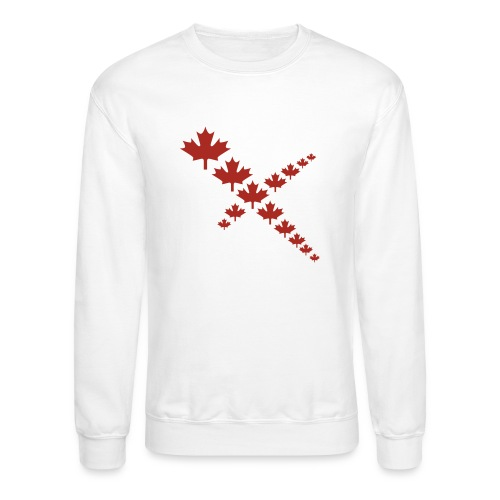 Maple Leafs Cross - Unisex Crewneck Sweatshirt
