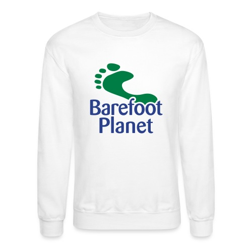 Get Out & Run Barefoot Women's T-Shirts - Unisex Crewneck Sweatshirt