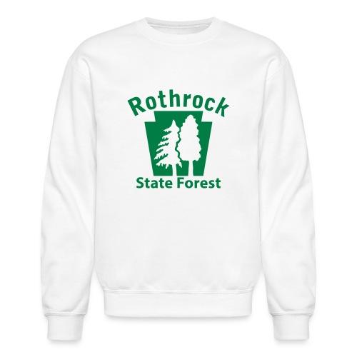 Rothrock State Forest Keystone (w/trees) - Crewneck Sweatshirt