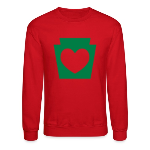 Love/Heart PA Keystone - Crewneck Sweatshirt