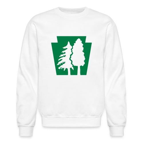 PA Keystone w/trees - Unisex Crewneck Sweatshirt