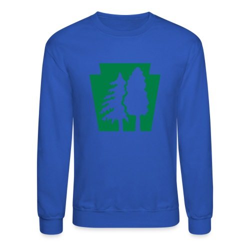 PA Keystone w/trees - Crewneck Sweatshirt