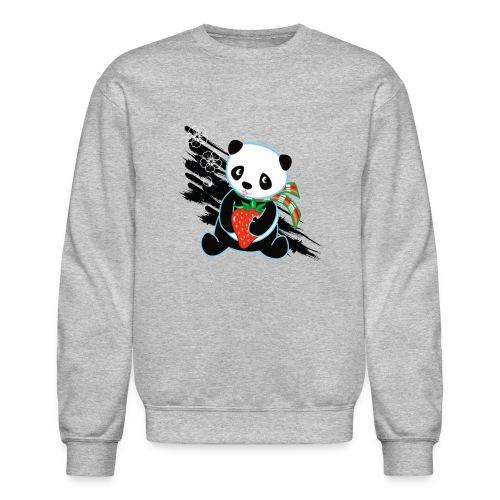 Cute Kawaii Panda T-shirt by Banzai Chicks - Crewneck Sweatshirt