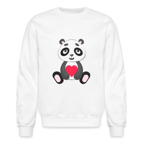 Sweetheart Panda - Crewneck Sweatshirt