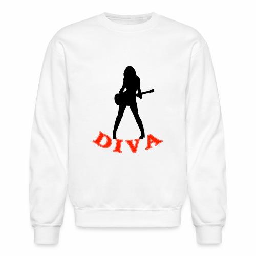 Rock Star Diva - Unisex Crewneck Sweatshirt