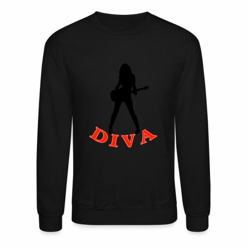 Rock Star Diva - Crewneck Sweatshirt