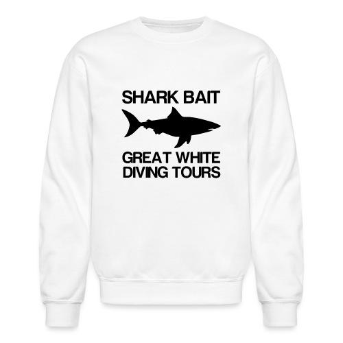 Great White Shark T-Shirt - Unisex Crewneck Sweatshirt